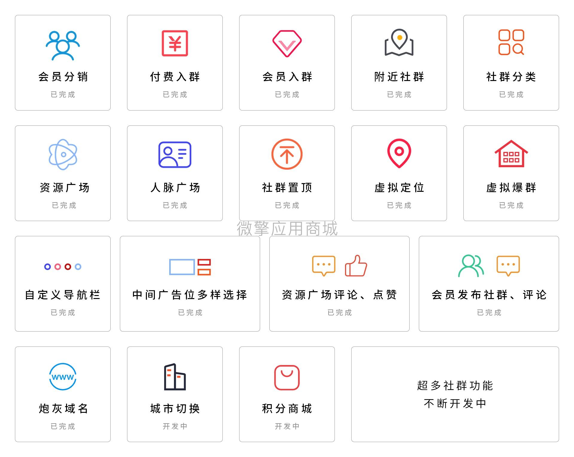 社群广场版本号:1.4.9 – 平台运营版-酷商秀源码